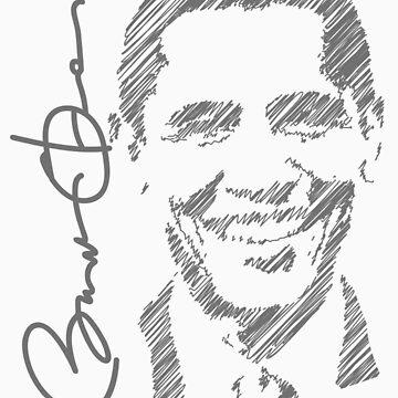 Obama Sketch 2012 Shirt by ObamaShirt
