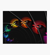Into the Blackhole With You Photographic Print