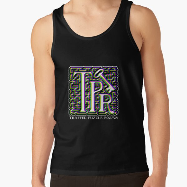 TPR Color Split Logo Tank Top