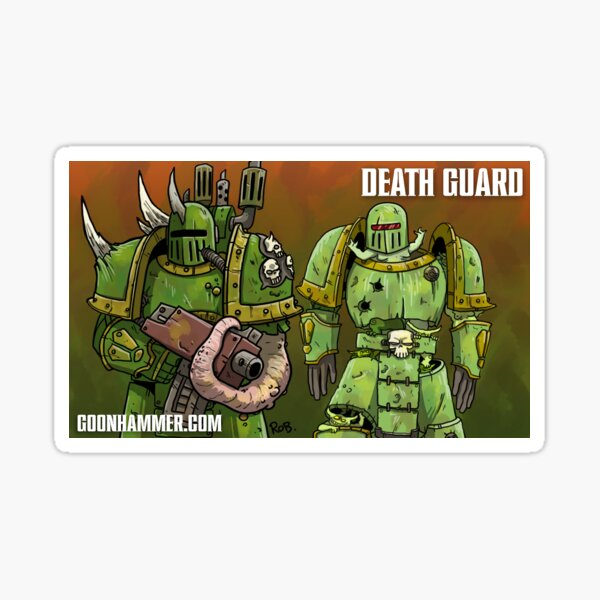 GOONHAMMER DEATH GUARD Sticker