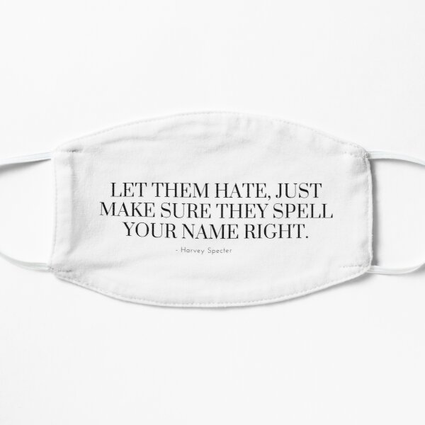 Harvey Specter Quote | Suits  Mask