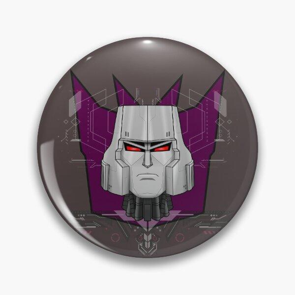 Megatron Bust Pin