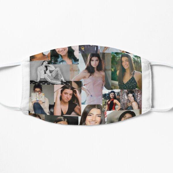 Collage de Charli Damelio Mascarilla plana
