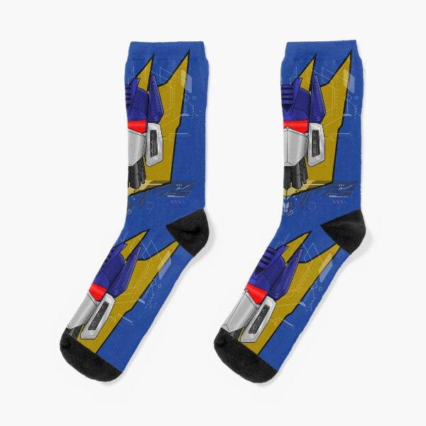Soundwave Bust Socks