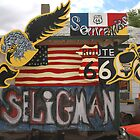 Seligman Sign Route 66 by albyw