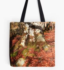 Red roots Tote Bag