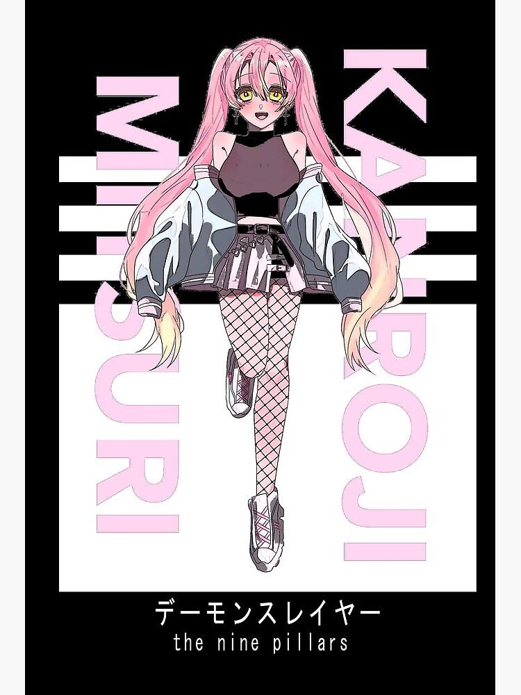 Mitsuri Kanroji Demon Slayer Kimetsu No Yaiba Hashira Deisgn Art Board Print By Anime Styles Redbubble Looking for information on the anime or manga character mitsuri kanroji? redbubble