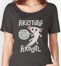 Aristotle Axolotl Women's Relaxed Fit T-Shirt