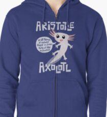 Aristotle Axolotl Zipped Hoodie