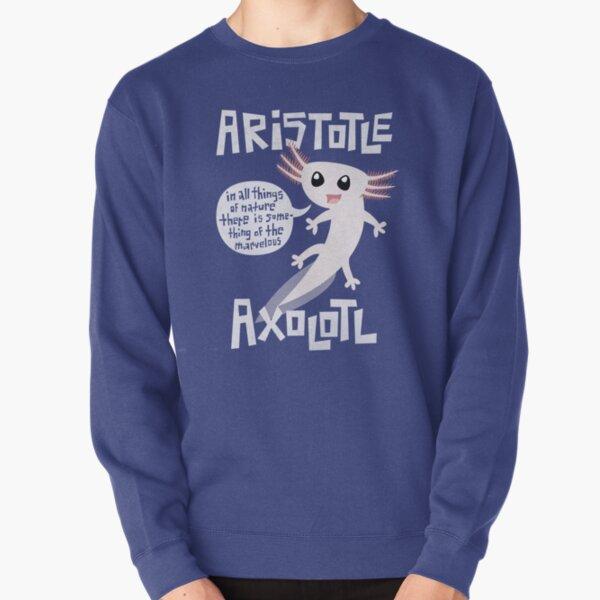 Aristotle Axolotl Pullover Sweatshirt