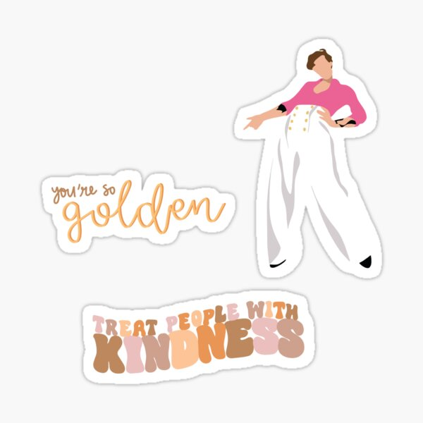 Treat People with Kindness Sticker Pack Sticker