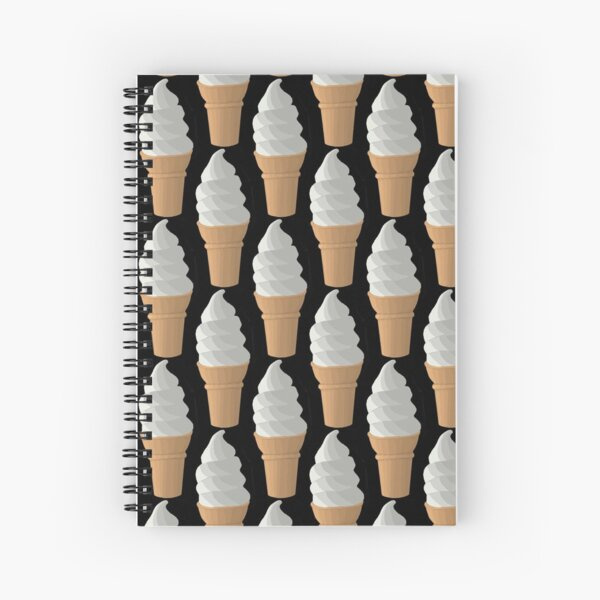 Ice cream cone Spiral Notebook