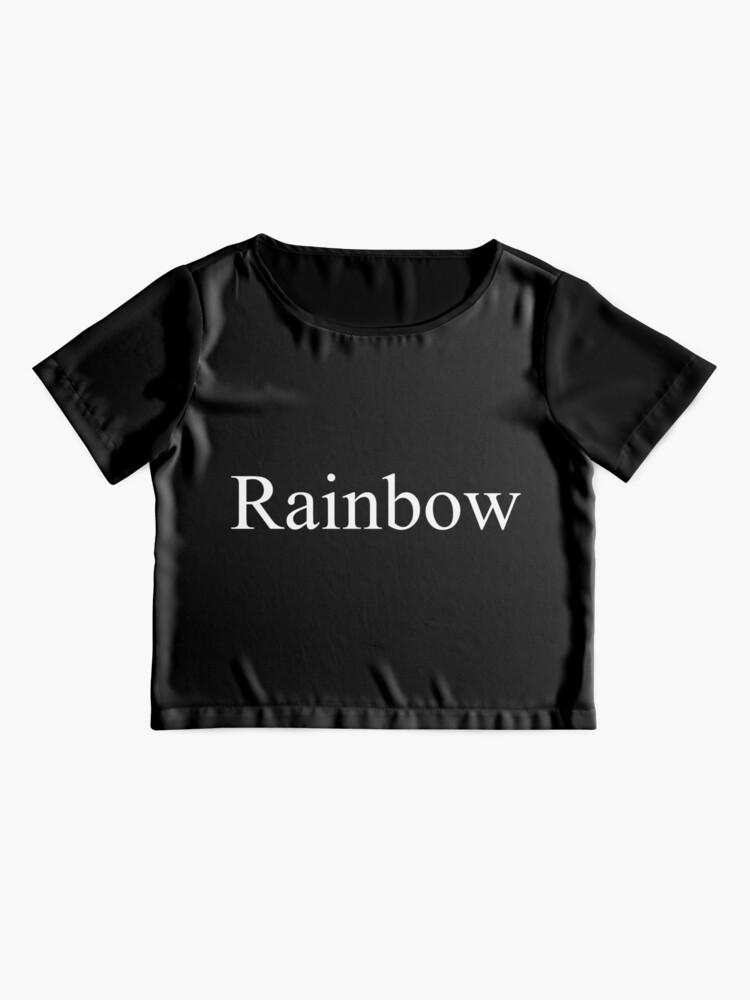 Alternate view of Rainbow Chiffon Top