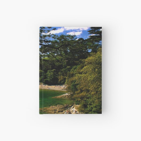 Durgan Beach. (Helford River). Hardcover Journal