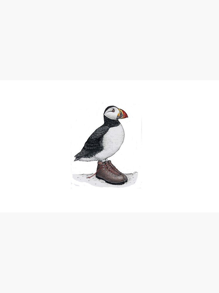 Puffin in hiking boots by JimsBirds