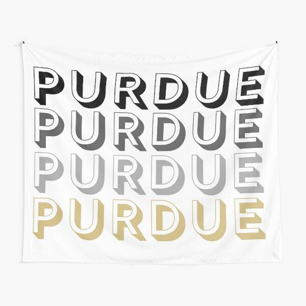 Lettres majuscules de l'Université Purdue Tentures