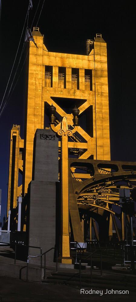 Tower Bridge, Sacramento by Rodney Johnson