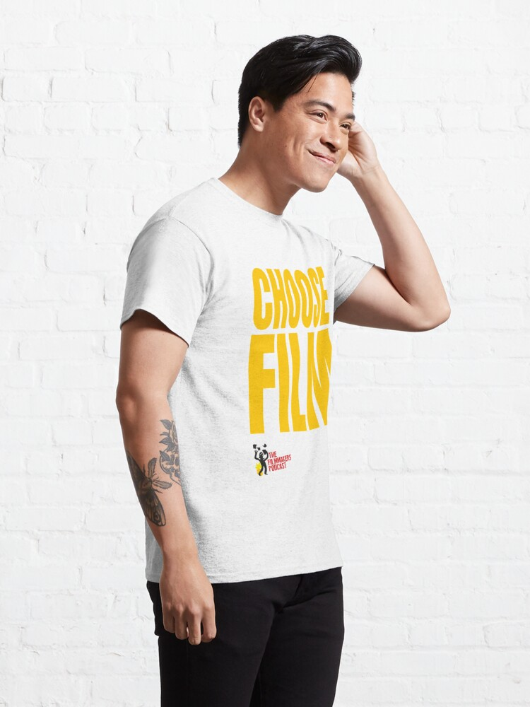 Alternate view of CHOOSE FILM With Logo Classic T-Shirt