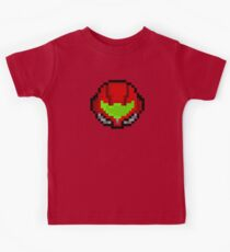 Retro Samus Aran Helmet  Kids Clothes