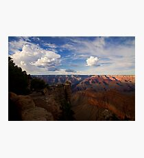 Grand Canyon in the setting sun Photographic Print