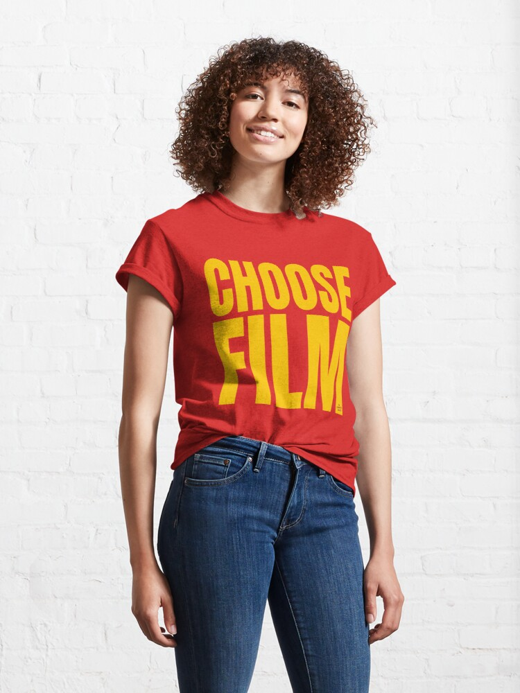 Alternate view of CHOOSE FILM Classic T-Shirt