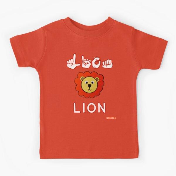 Spellimals (LION version) Kids T-Shirt