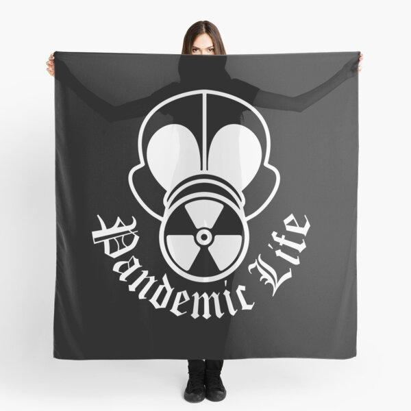 Gas Mask Pandemic Life White Scarf