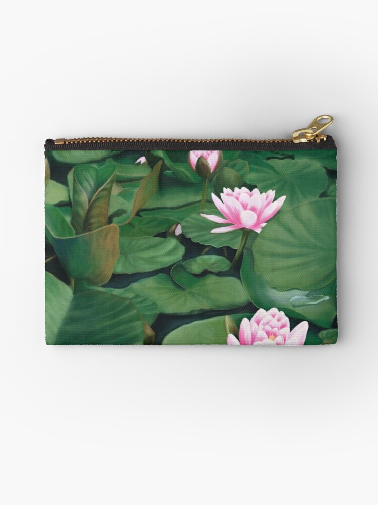 Seerosen Studio Pouches By Unikatdesign Redbubble