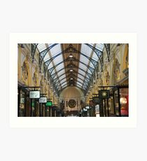 Royal Arcade, Melbourne Art Print