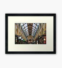 Royal Arcade, Melbourne Framed Print