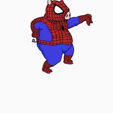 Spider-Pig by Longburns