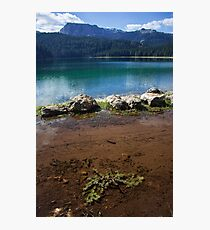 Double lake Photographic Print