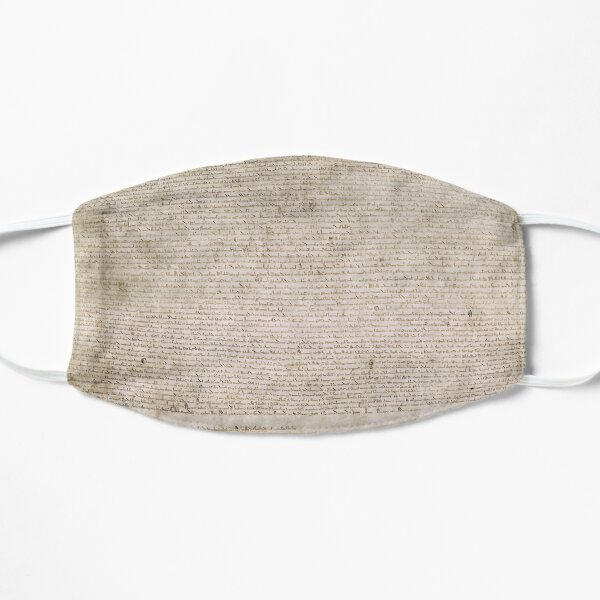 Magna Carta Exemplification of 1215 Cotton MS Augustus II Mask