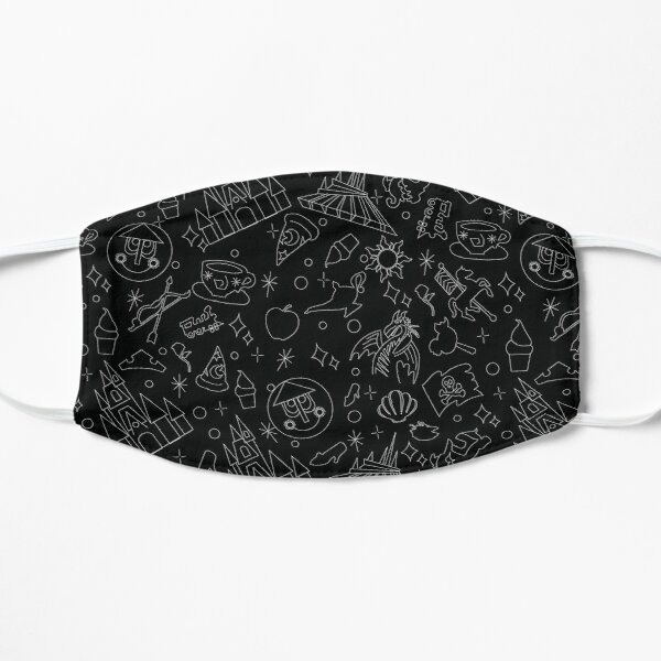 Magical Pattern (Black) Mask