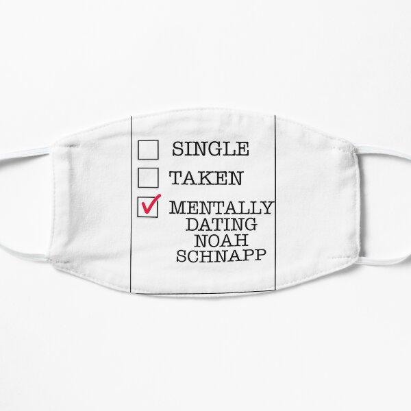Mentally Dating Noah Schnapp Flat Mask
