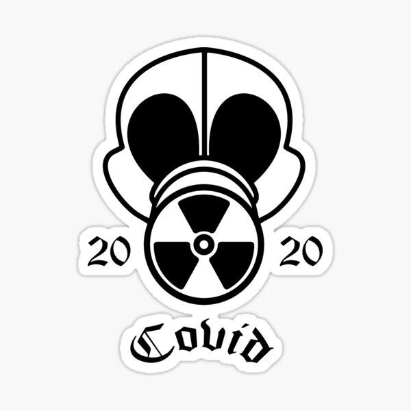 Gas Mask Covid 2020 Sticker
