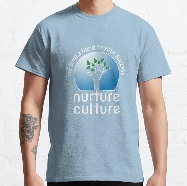 Nurture Culture [white outline] Classic T-Shirt
