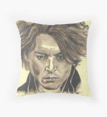 Johnny Depp - Ichabod Crane Throw Pillow