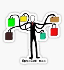 Spender man Sticker