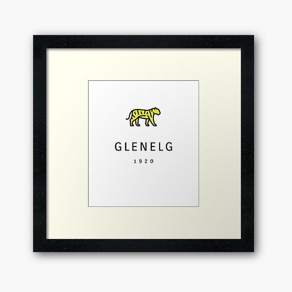 Glenelg Tigers FC Framed Art Print