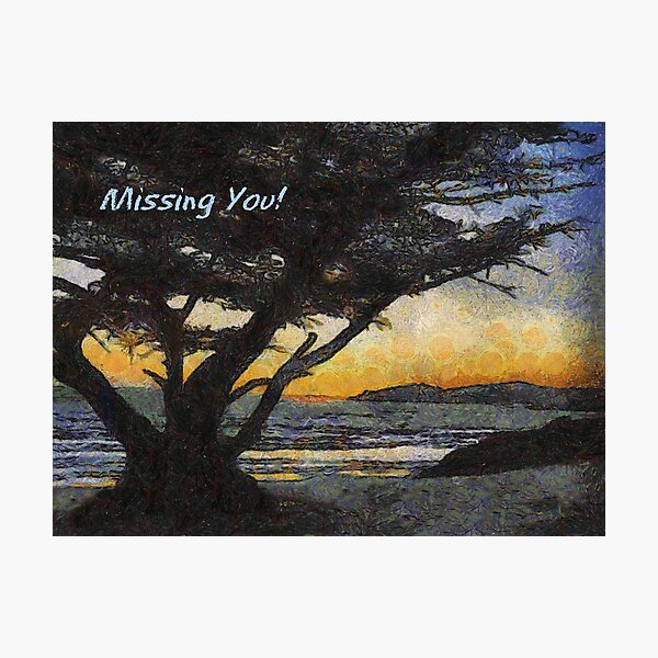 Missing You Photographic Print