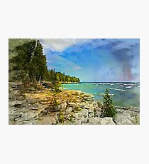 Lake Michigan,Wisconsin Photographic Print