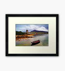 Granuaile's Tower Achill Framed Print