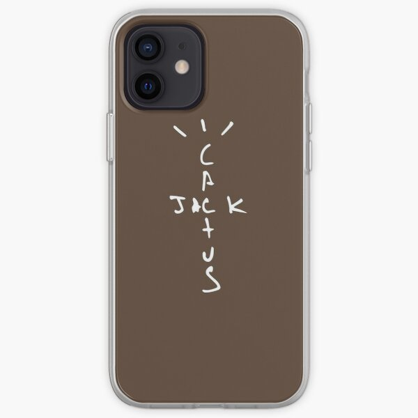 Cactus Jack Brown Design Travis Scott Coque souple iPhone