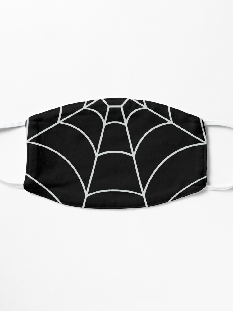 Alternate view of Spider Web BLACK Mask
