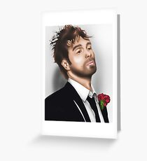 Sam Rockwell Greeting Card