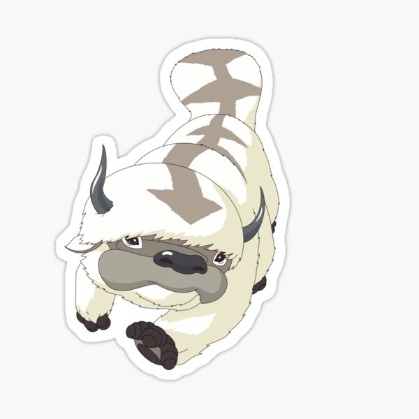 appa drawing Sticker