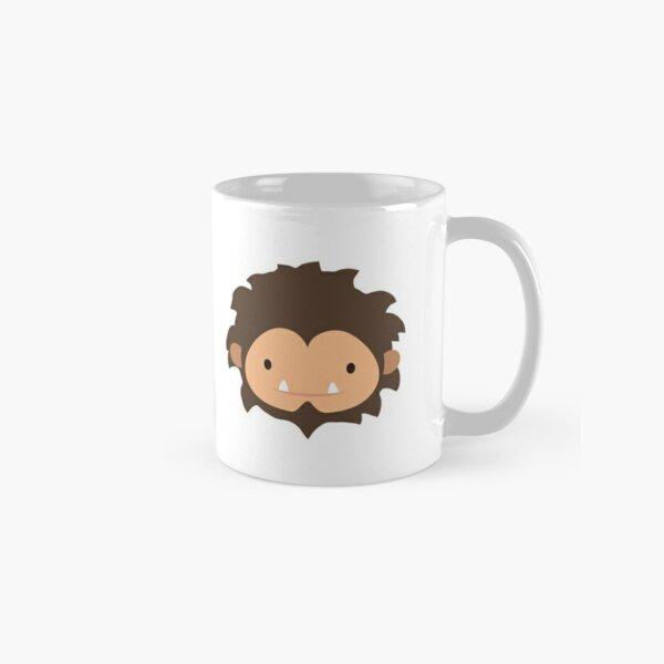 Sneaky Sasquatch Head & Logo Classic Mug