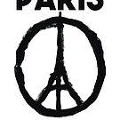 Paris Je t'aime - I LOVE YOU by inkDrop