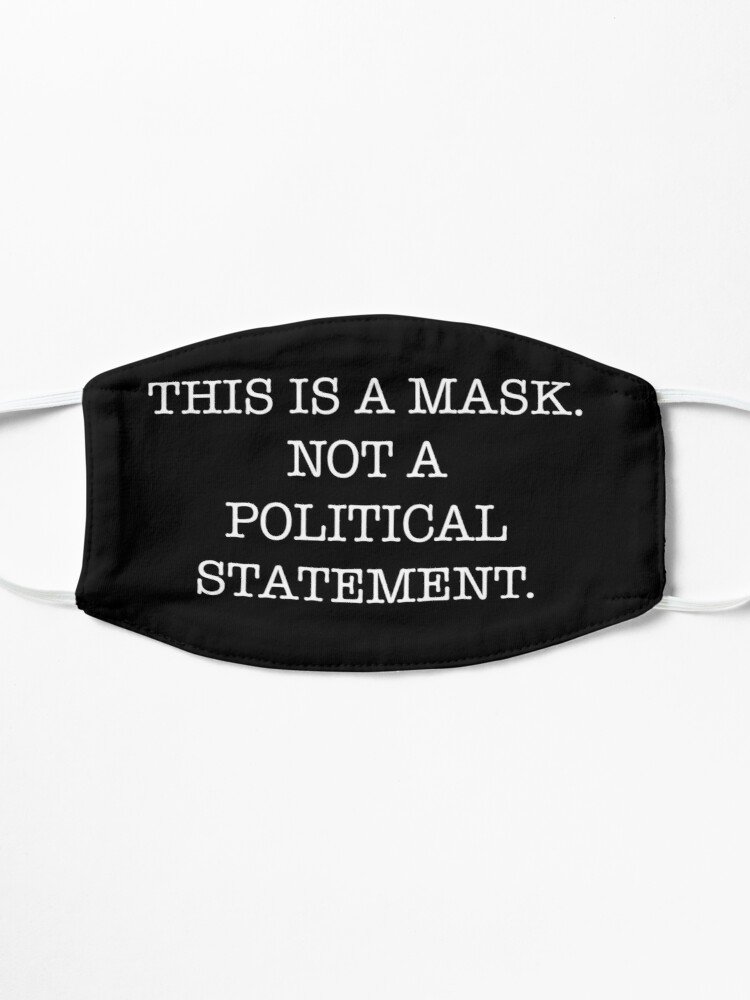 Alternate view of This is a Mask Mask